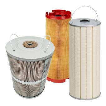 filtres pour électroérosion